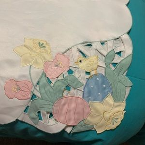 Easter Table cloth.  Large rectangular